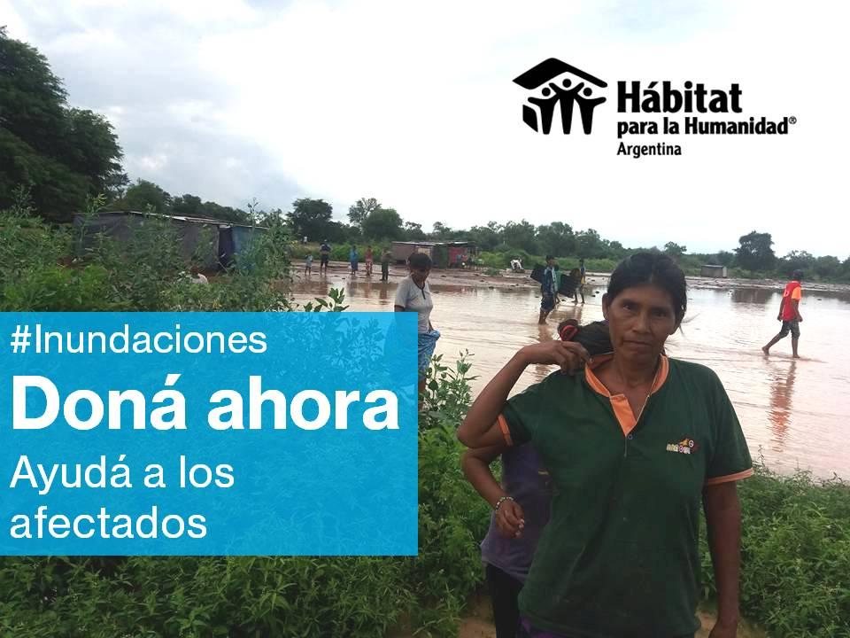 Respuesta a las inundaciones  en el Norte Argentino