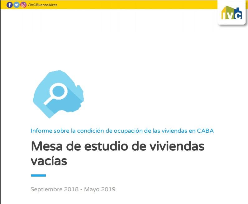 Informe sobre la condición de ocupación de las viviendas en CABA